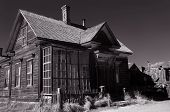 Vintage Ghost town store in Bodie, California