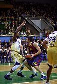 Euroleague Basketball Game Between Budivelnik Kyiv And Fc Barcelona