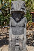 Maya Sculpture