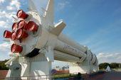 Rocket At Cape Canaveral