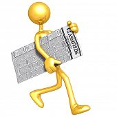 Gold Guy Carrying Employment Classifieds