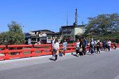 Japanese bridge Takayama