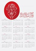 picture of counting sheep  - Calendar new Year 2015 - JPG