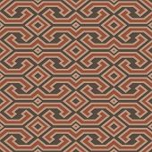 Seamless Vintage Toraja Color Pattern. Ethnic Vector Textured Background. Sulawesi, Indonesia.