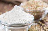 Portion Of Buckwheat Flour
