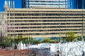 Waterfall Building Abstract
