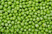 stock photo of pea  - Large background of a fresh green peas - JPG