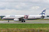 Airbus A321 jet aircraft