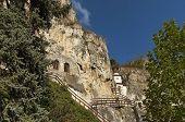 The rock monastery