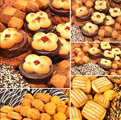 Pastry puffs and cookies