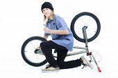 Studio Bike rider