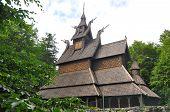 fantoft, stave church in norway