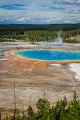 Grand Prismatic Pool, Yellowstone National Park