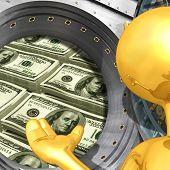Gold Guy Banking Presenter