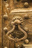 Door With Old Knocker