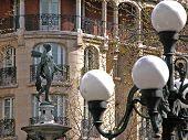 Paris City Statue poster