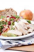 Chicken Bacon And Pecan Salad