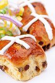 Fresh Baked Hot Cross Buns