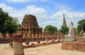 Temple at  Ayuthaya