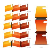 Fold Crease Paper Elements