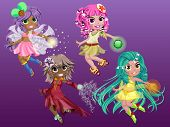 Magician Girls