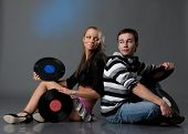 Male Dj And Beautiful Girl