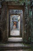 Buddha Image At Angkor Thom