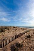 Beach On Spanish Atlantic Coast
