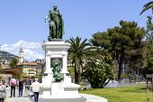 Statue To Marshal Andre Massena In Nice