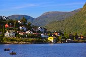 Town Sogndal And Fjord - Norway