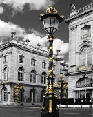 Lamp-post And Street Corner