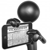 Touch Screen Employment Classifieds