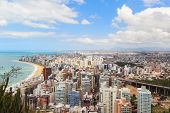 Panoramic View Of Vila Velha, Beach Praia Da Costa, Espirito Santo, Brazil