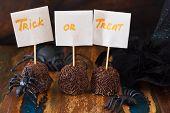 Halloween Sweets Treak Or Treat  Brigadeiro, Spider, Witch Hat