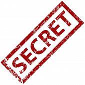 Secret rubber stamp