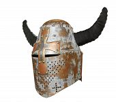 Knight's Helmet With Horns