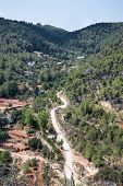 Old Hippy Valley And Commune Of San Carlos On Ibiza In Mediterranean