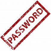Password rubber stamp