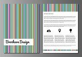 Brochure  minnimalistic design templates