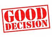 Good Decision