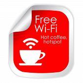 Free wi-fi cafe