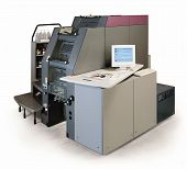 digital printing press
