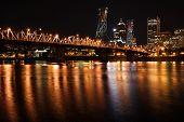 City skyline at night #3