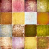 Earthy geometric background image and design element
