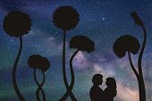 Lovers and dandelions