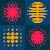 Circle Abstract Halftone