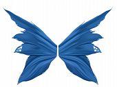 Blue Faery Wings