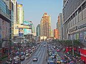 Skyscraper In The Center Of City at Prathunum Market