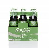 Coca-cola Life 6 Pack Side View