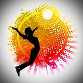 picture of volleyball  - Volleyball sport invitation advert background with empty space - JPG